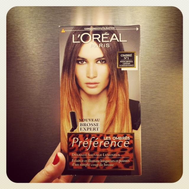 OMbré hair l'oréal