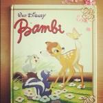 livre Bambi vintage