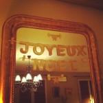 Lettres déco Joyeux Noël