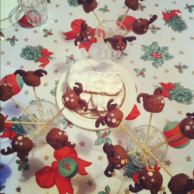 cake pops Renne gouter