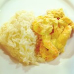 crevette curry gingembre