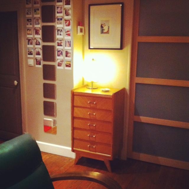 Nouveau meuble chiné