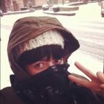 mission croissant sous la neige