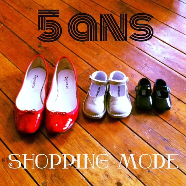 5 ans shopping mode