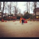 avoir le parc pour nous seul