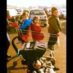 courses avec les 4 kids
