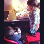 cuisine muffins m&m's