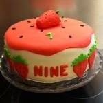 gâteau Nine 1