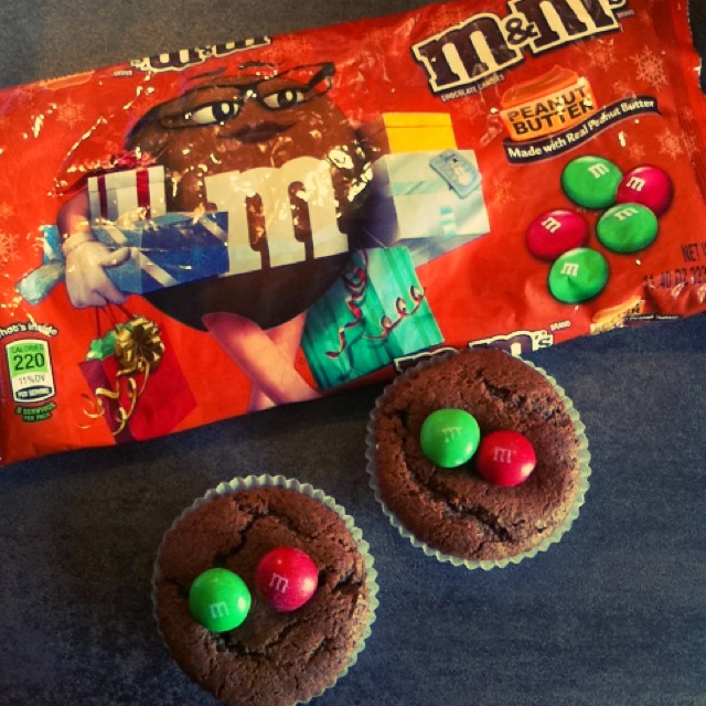 muffins m&m's peanuts butter 2