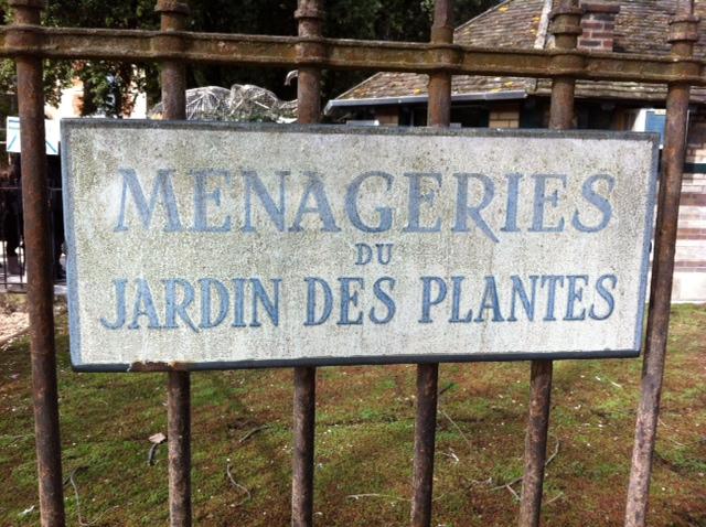 ménagerie jardin des plantes