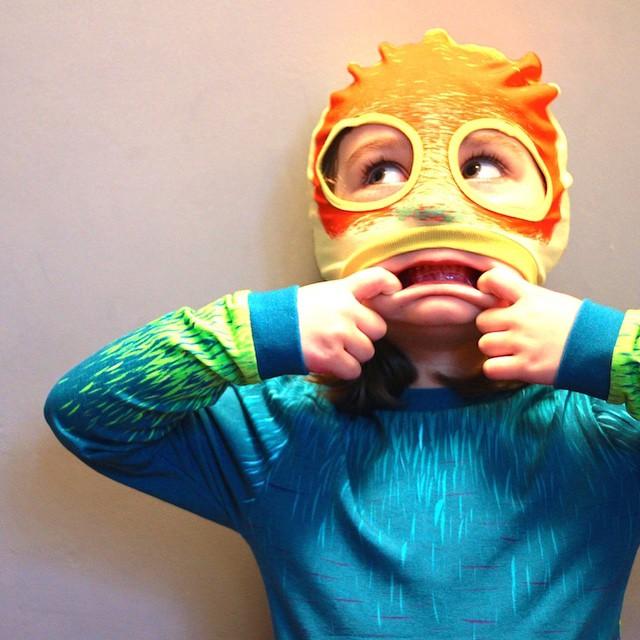 Sur le blog: la découverte de chouettes pyjama-déguisements et la…