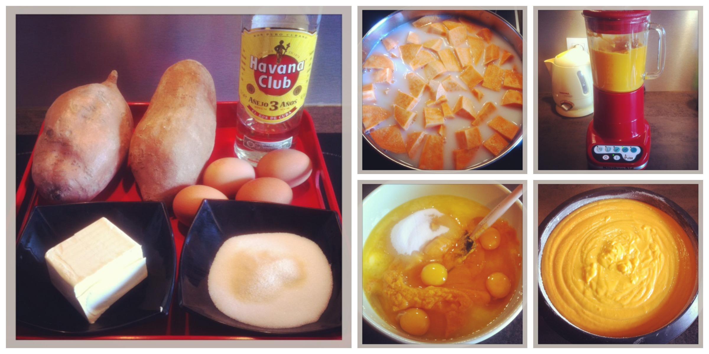 G teau de patates douces cubain la reine de l 39 iode - Bouture de patate douce ...
