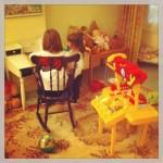 jouer avec les cousines