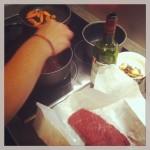 mari en cuisine