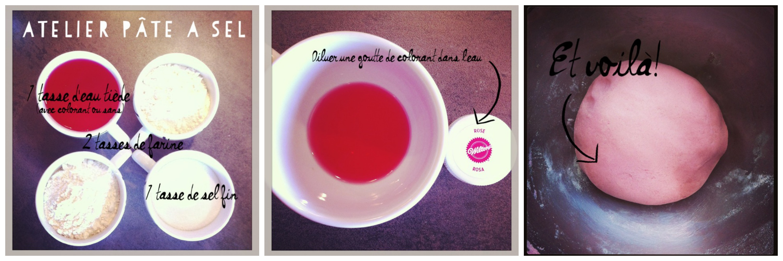Atelier p te sel la reine de l 39 iode - Pate a sel recette ...