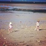 chasse aux trésors sur la plage