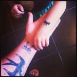 même tatouage