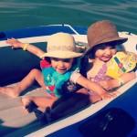 minis en bateau