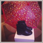 nouvelles shoes et parapluie DPAM