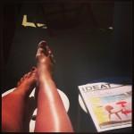 tenter de bronzer des jambes