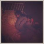 minis pintades endormies