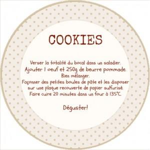 Turbo DIY : Cookies Jar (et étiquettes à télécharger!) - La Reine de  EO97