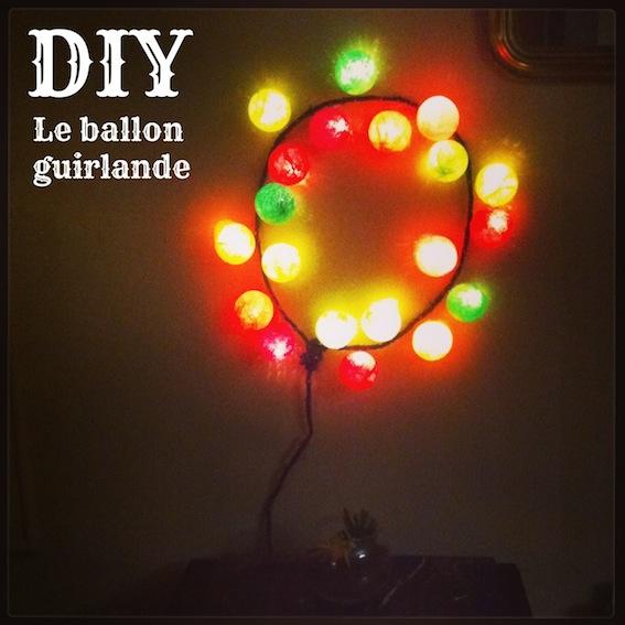 diy le ballon guirlande lumineuse la reine de l 39 iode. Black Bedroom Furniture Sets. Home Design Ideas