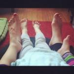 pieds de pintades