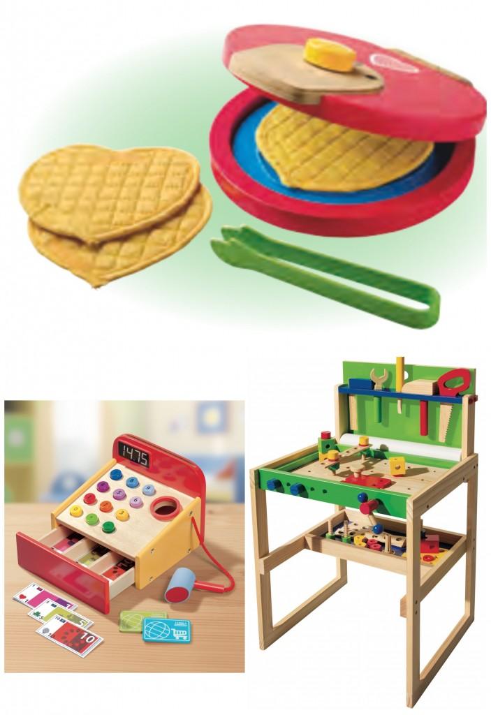 Des jouets en bois pour no l avec lidl concours la for Cuisine bois lidl