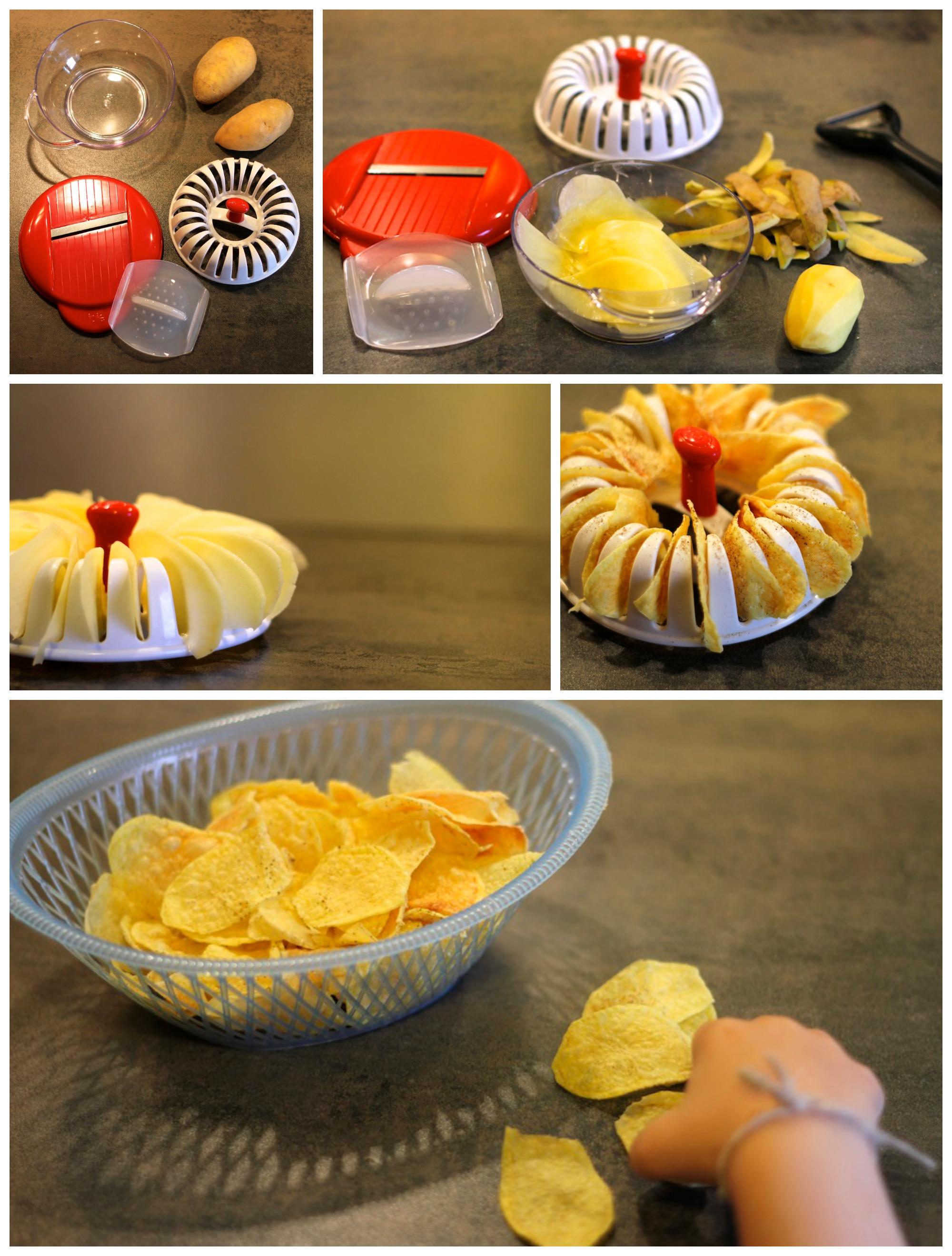 Chips maison micro ondes ventana blog - Machine a chips maison ...